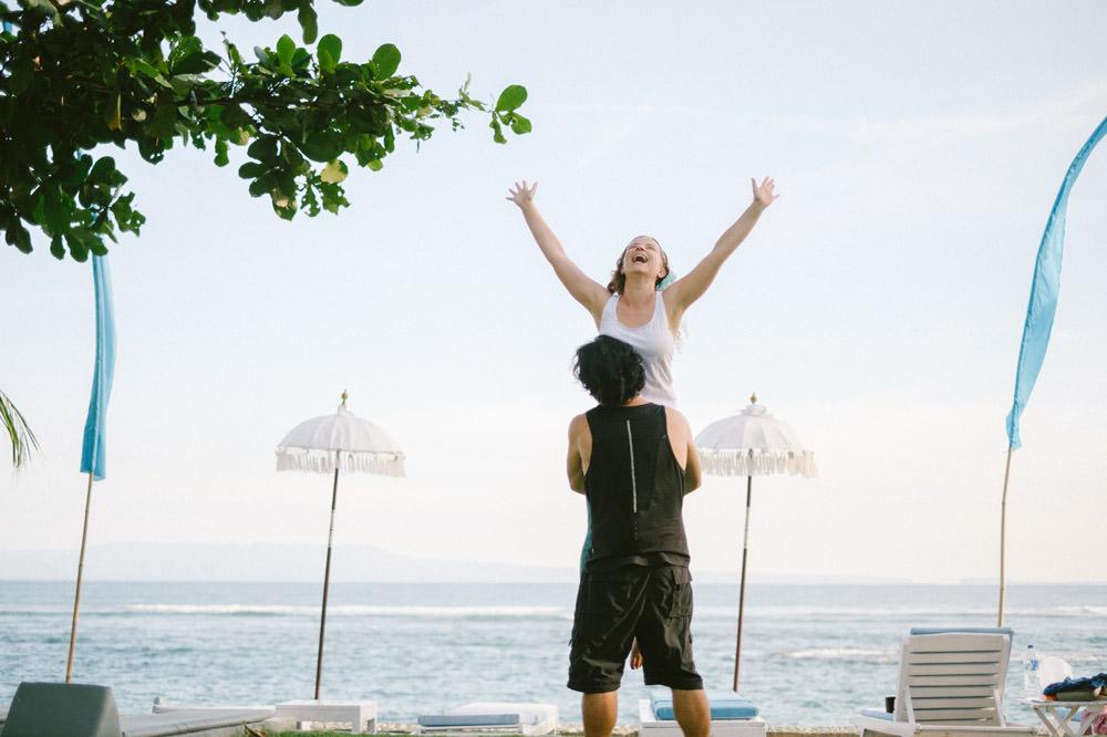 Bali Honeymoon Photography in Candidasa of Adam & Anna 16
