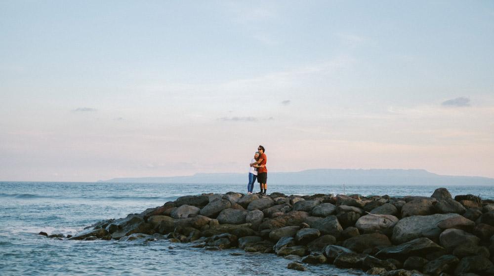 Bali Honeymoon Photography in Candidasa of Adam & Anna 34