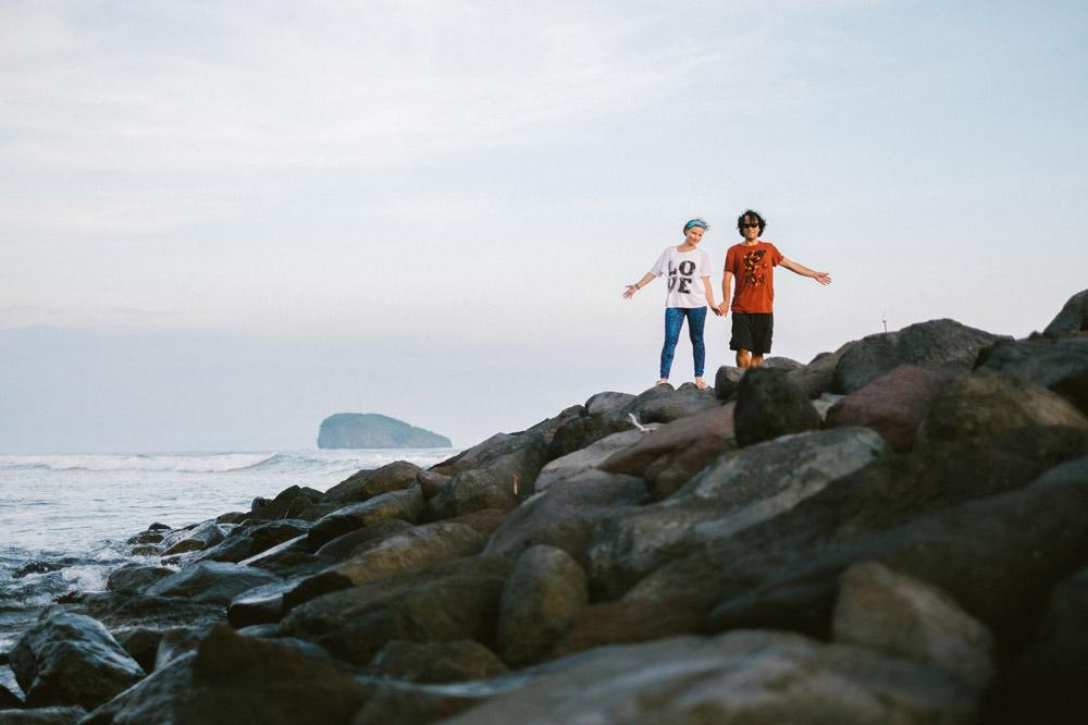 Bali Honeymoon Photography in Candidasa of Adam & Anna 35