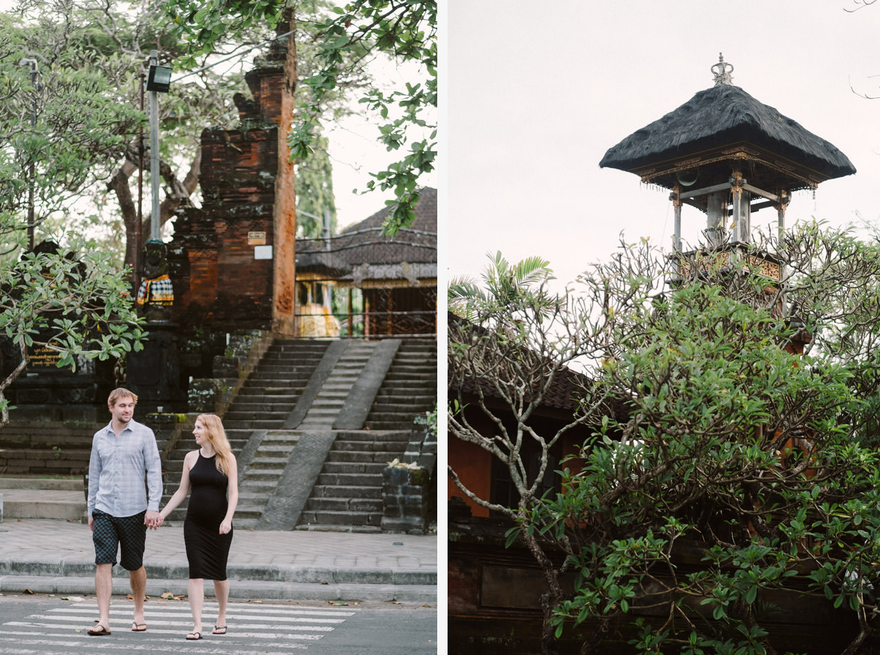 Aaron & Kaylea: Bali Maternity Photo Session 2