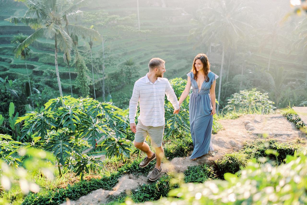 A&M: Tegalalang Rice Terraces Honeymoon Photography 1