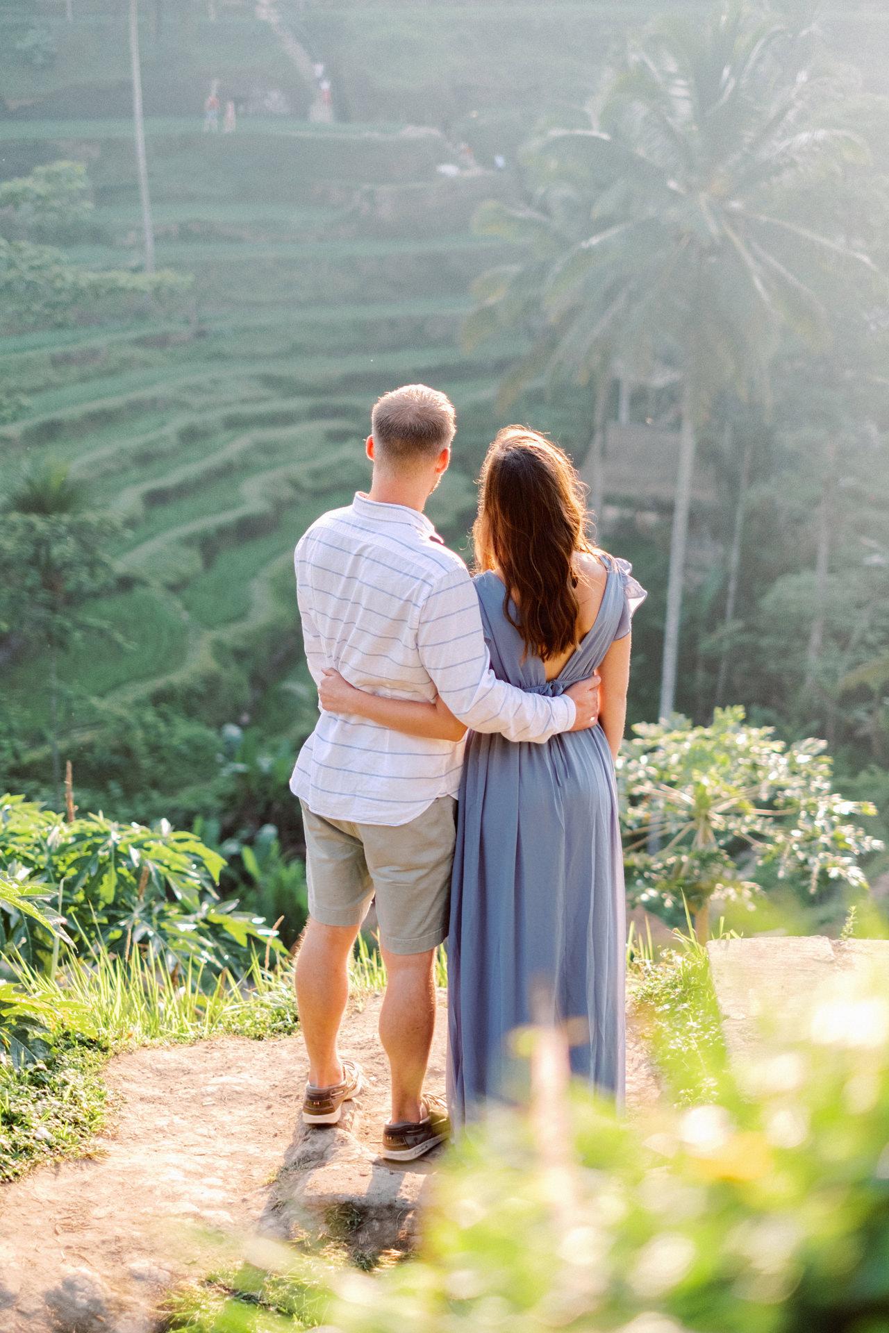 A&M: Tegalalang Rice Terraces Honeymoon Photography 2