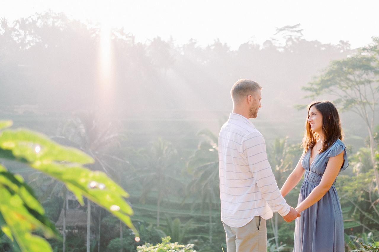 A&M: Tegalalang Rice Terraces Honeymoon Photography 3