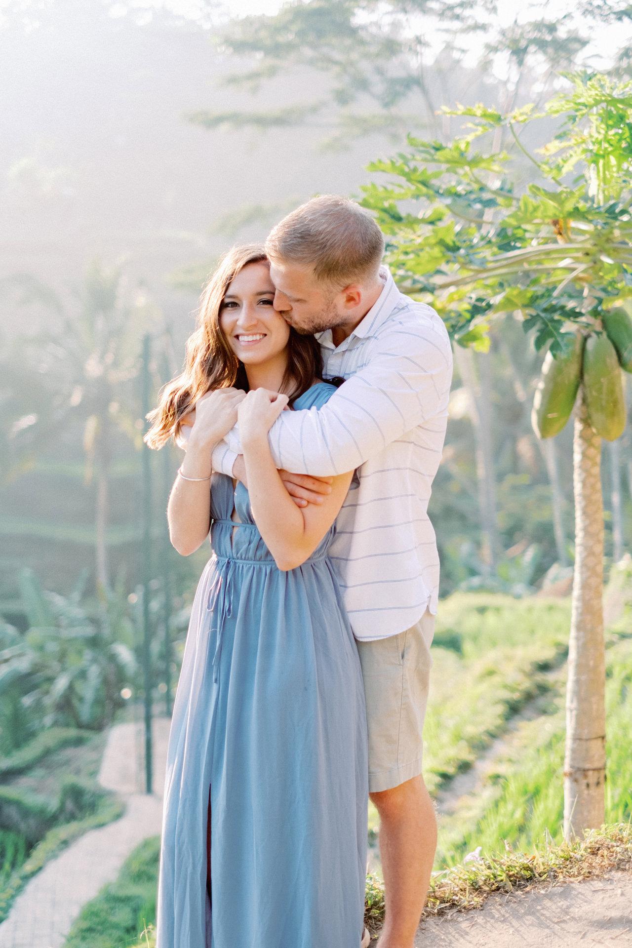 A&M: Tegalalang Rice Terraces Honeymoon Photography 4