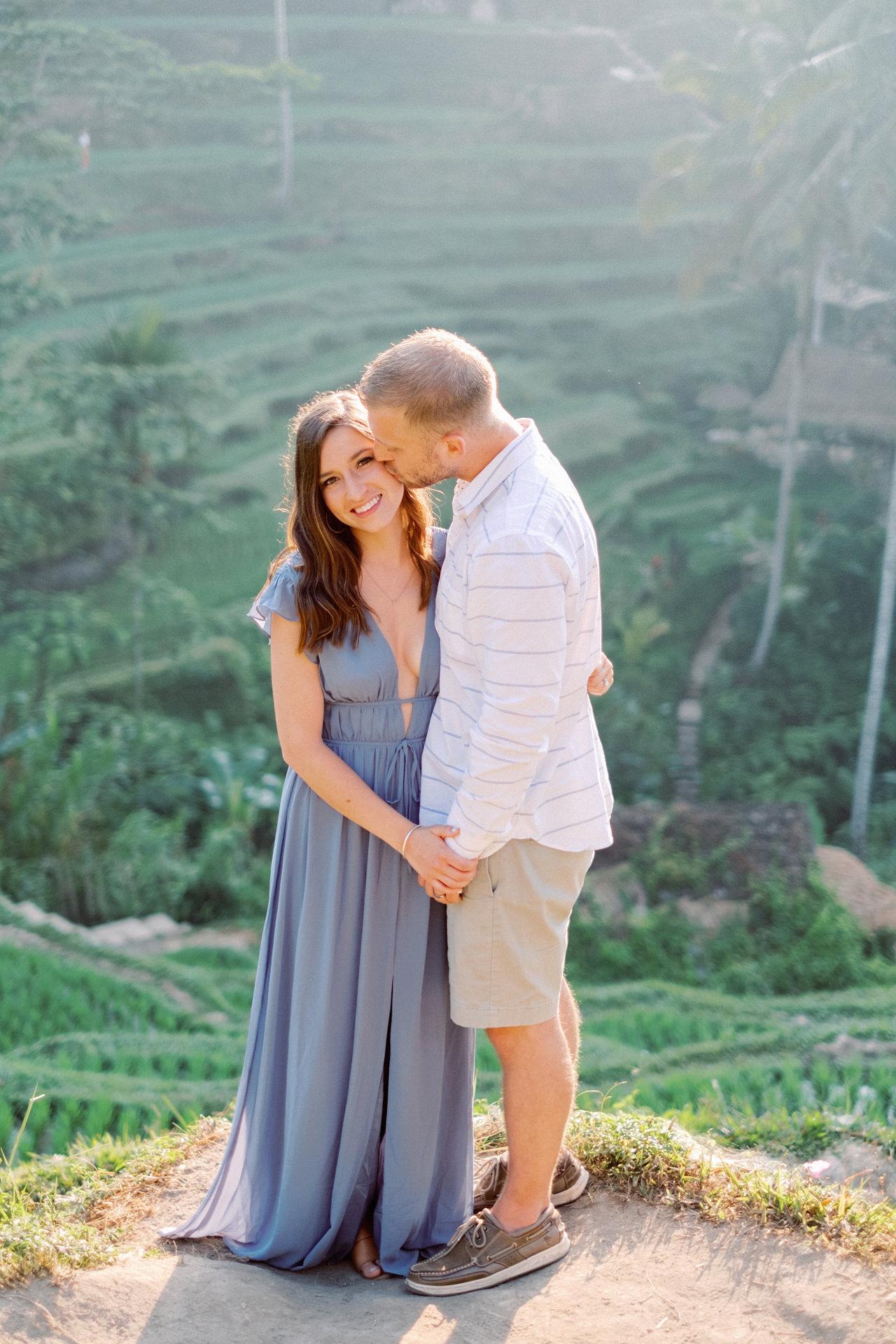 A&M: Tegalalang Rice Terraces Honeymoon Photography 5