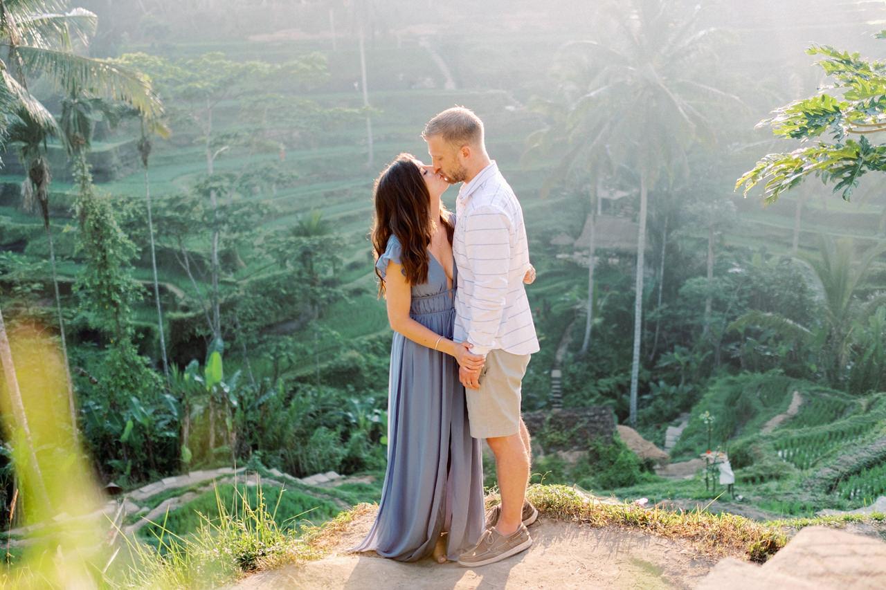 A&M: Tegalalang Rice Terraces Honeymoon Photography 6