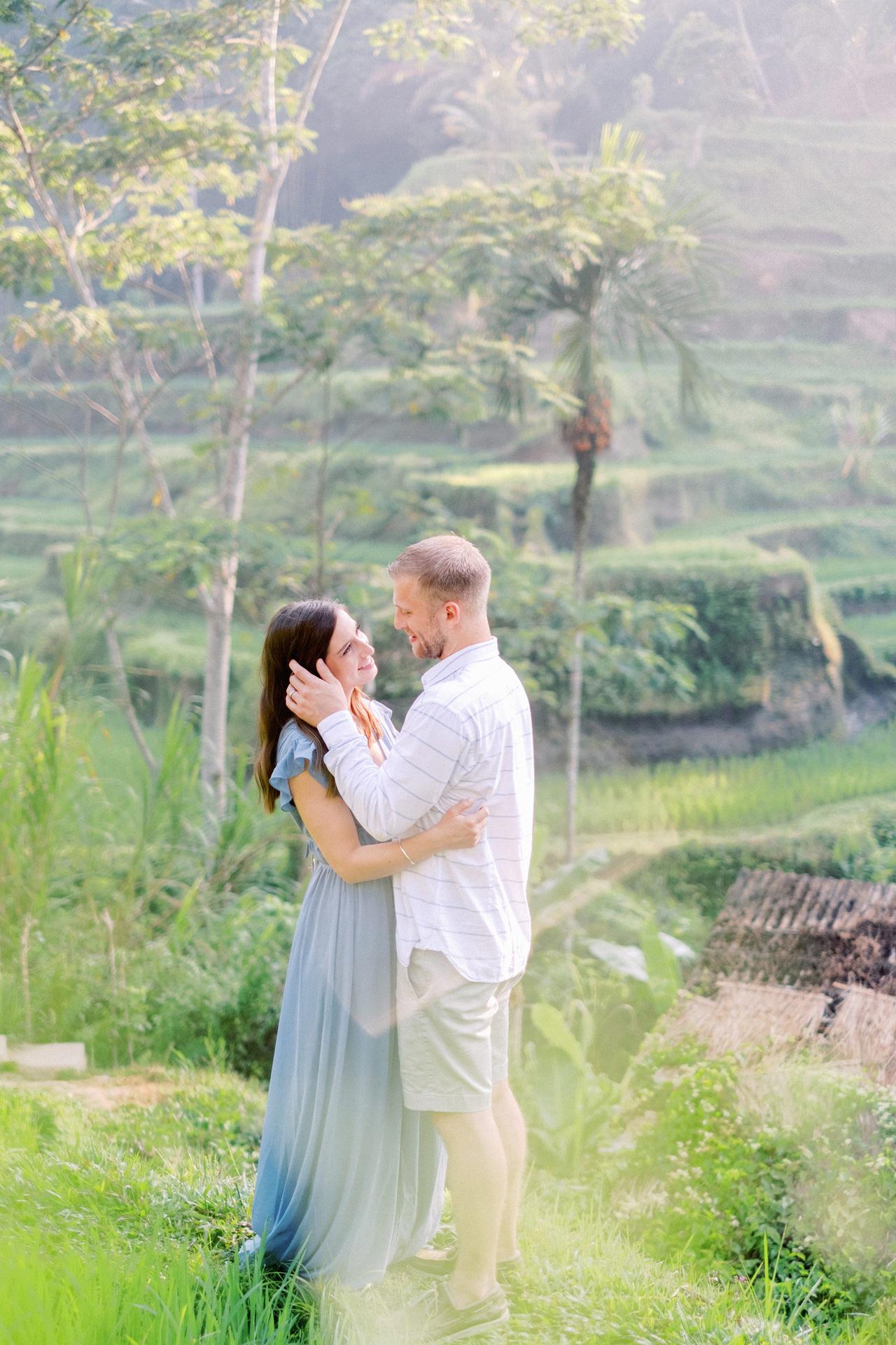 A&M: Tegalalang Rice Terraces Honeymoon Photography 10
