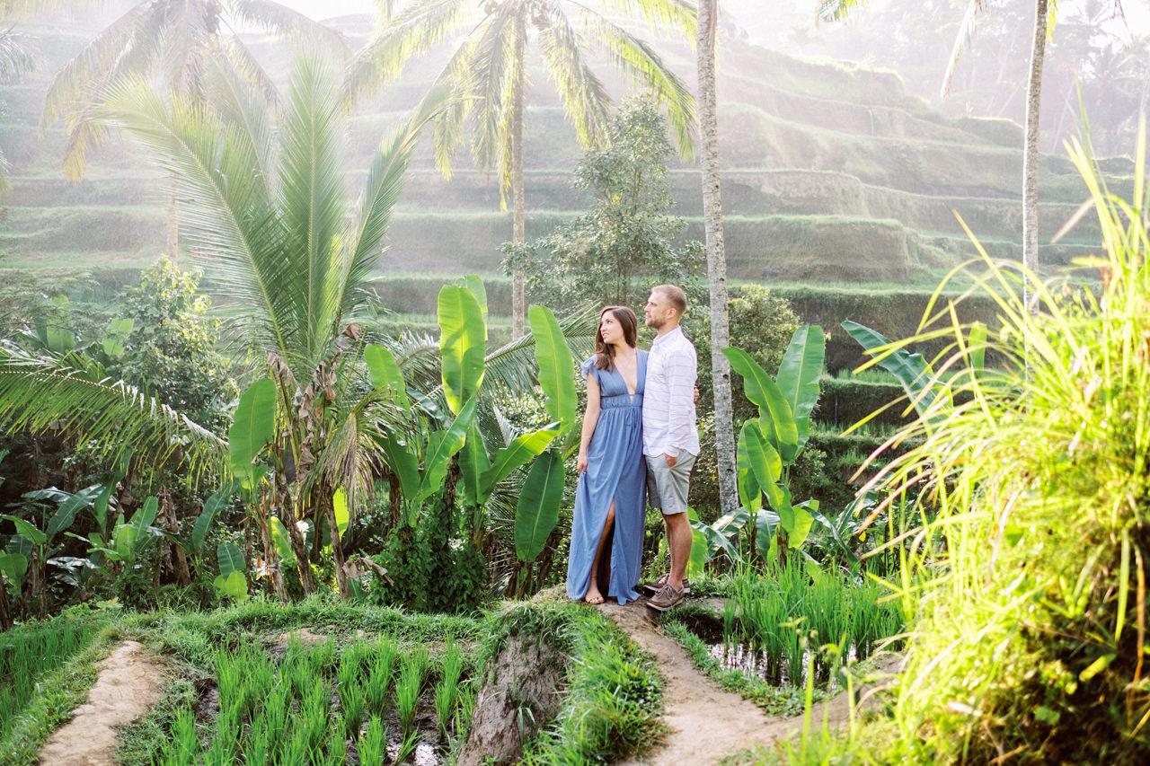 A&M: Tegalalang Rice Terraces Honeymoon Photography 11