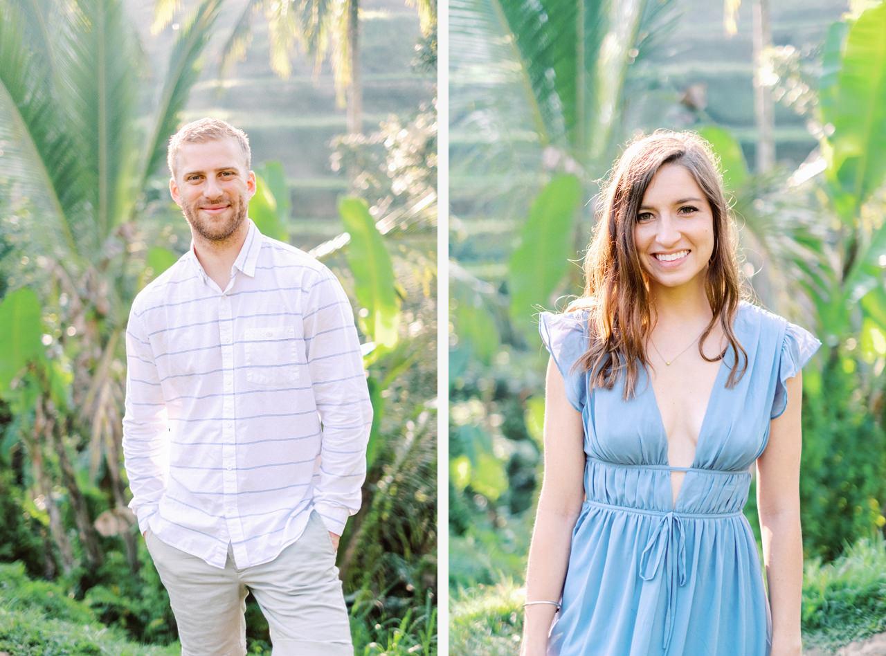 A&M: Tegalalang Rice Terraces Honeymoon Photography 12