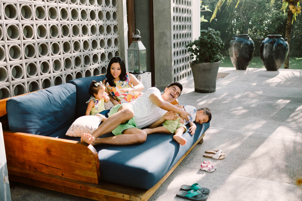 Ayas Christy: Bali Family Portrait at Jeeva Saba 1