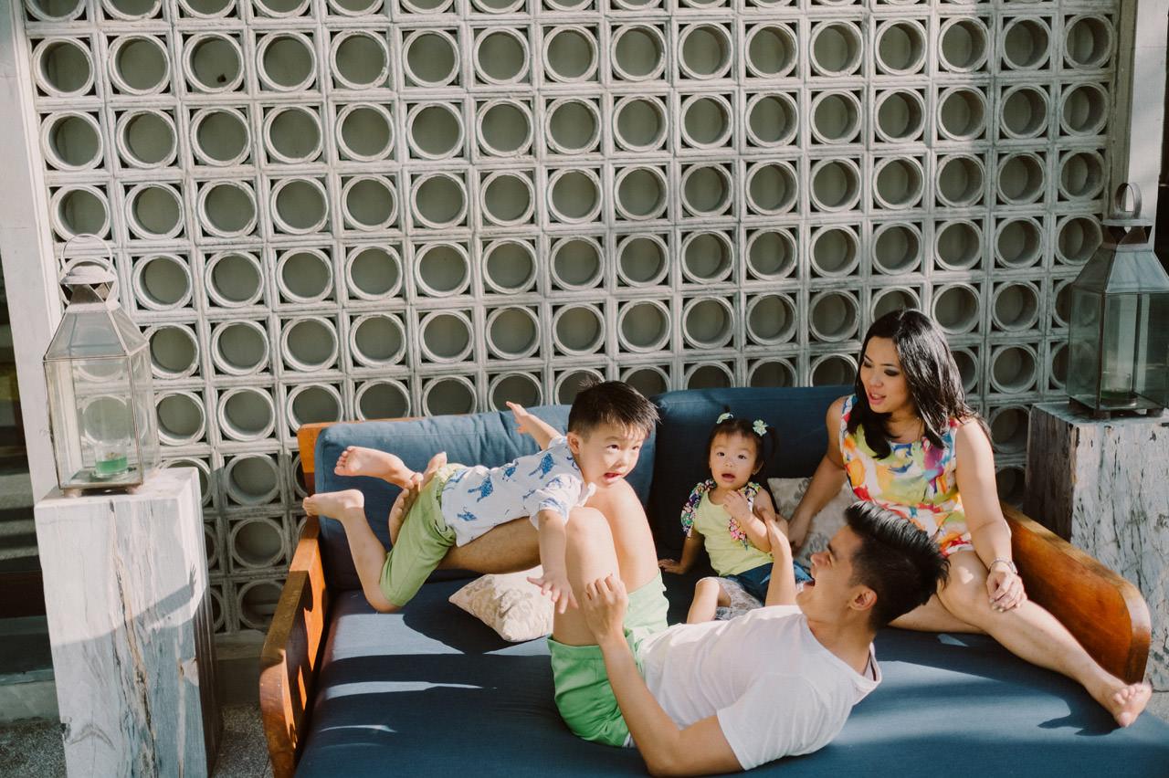 Ayas Christy: Bali Family Portrait at Jeeva Saba 2