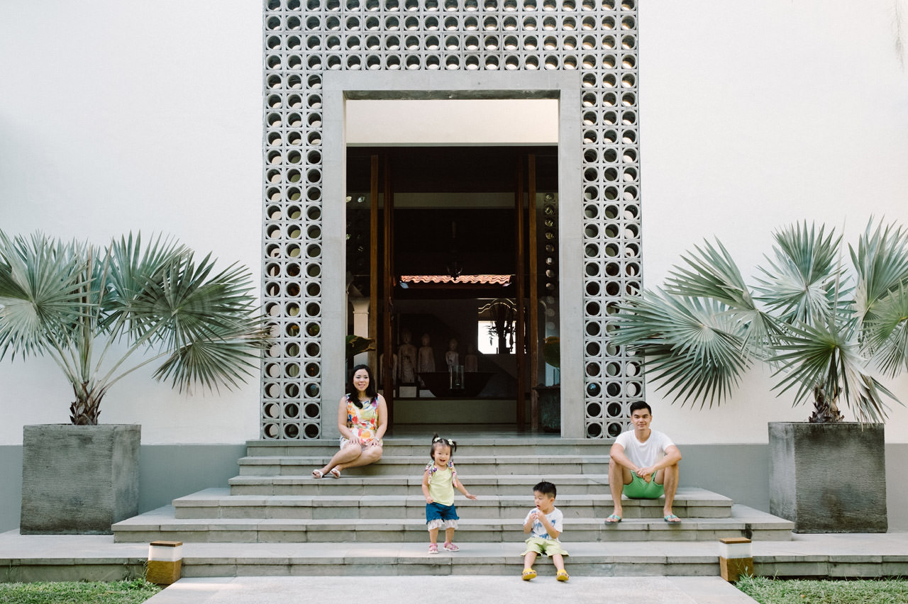 Ayas Christy: Bali Family Portrait at Jeeva Saba 4