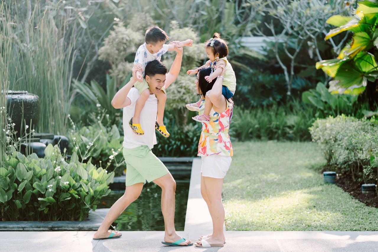 Ayas Christy: Bali Family Portrait at Jeeva Saba 5