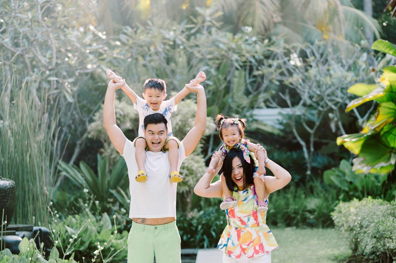 Ayas Christy: Bali Family Portrait at Jeeva Saba 6