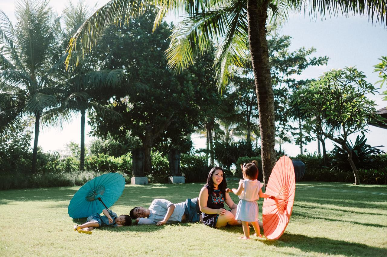 Ayas Christy: Bali Family Portrait at Jeeva Saba 9