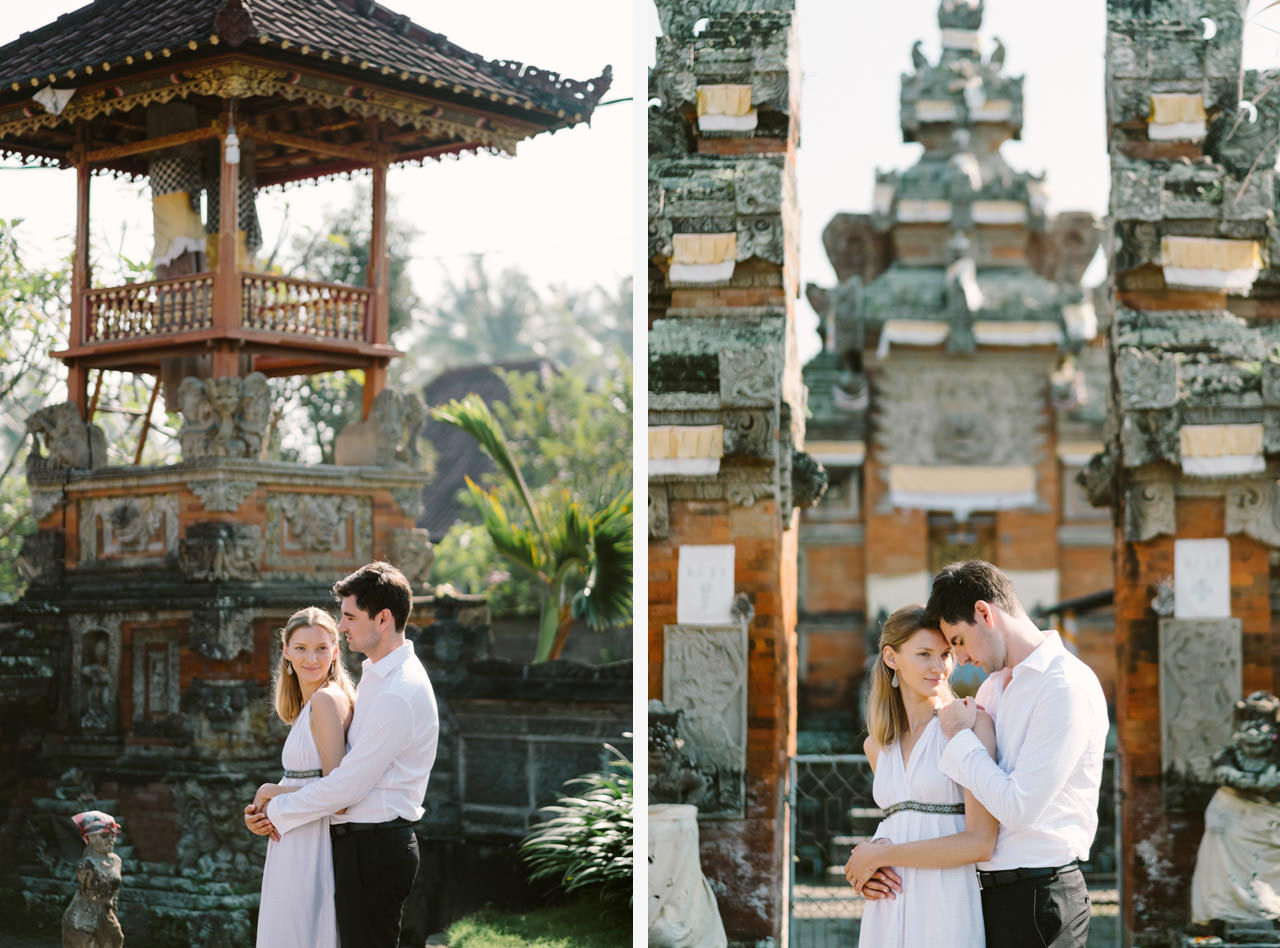 Anya & Denis: Honeymoon Photography in Ubud Bali 1