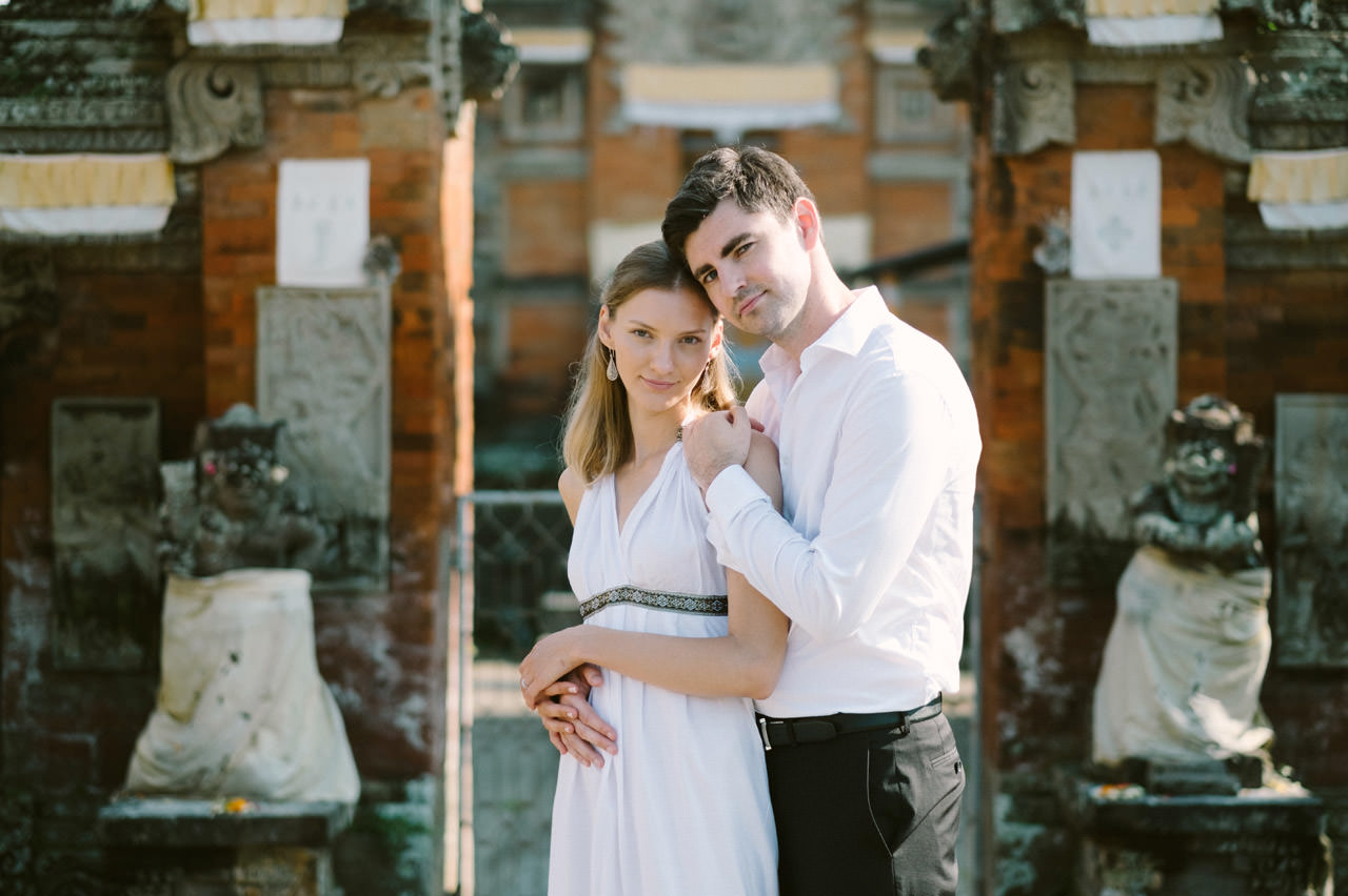 Anya & Denis: Honeymoon Photography in Ubud Bali 2
