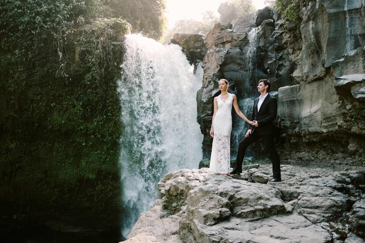 Anya & Denis: Honeymoon Photography in Ubud Bali 3