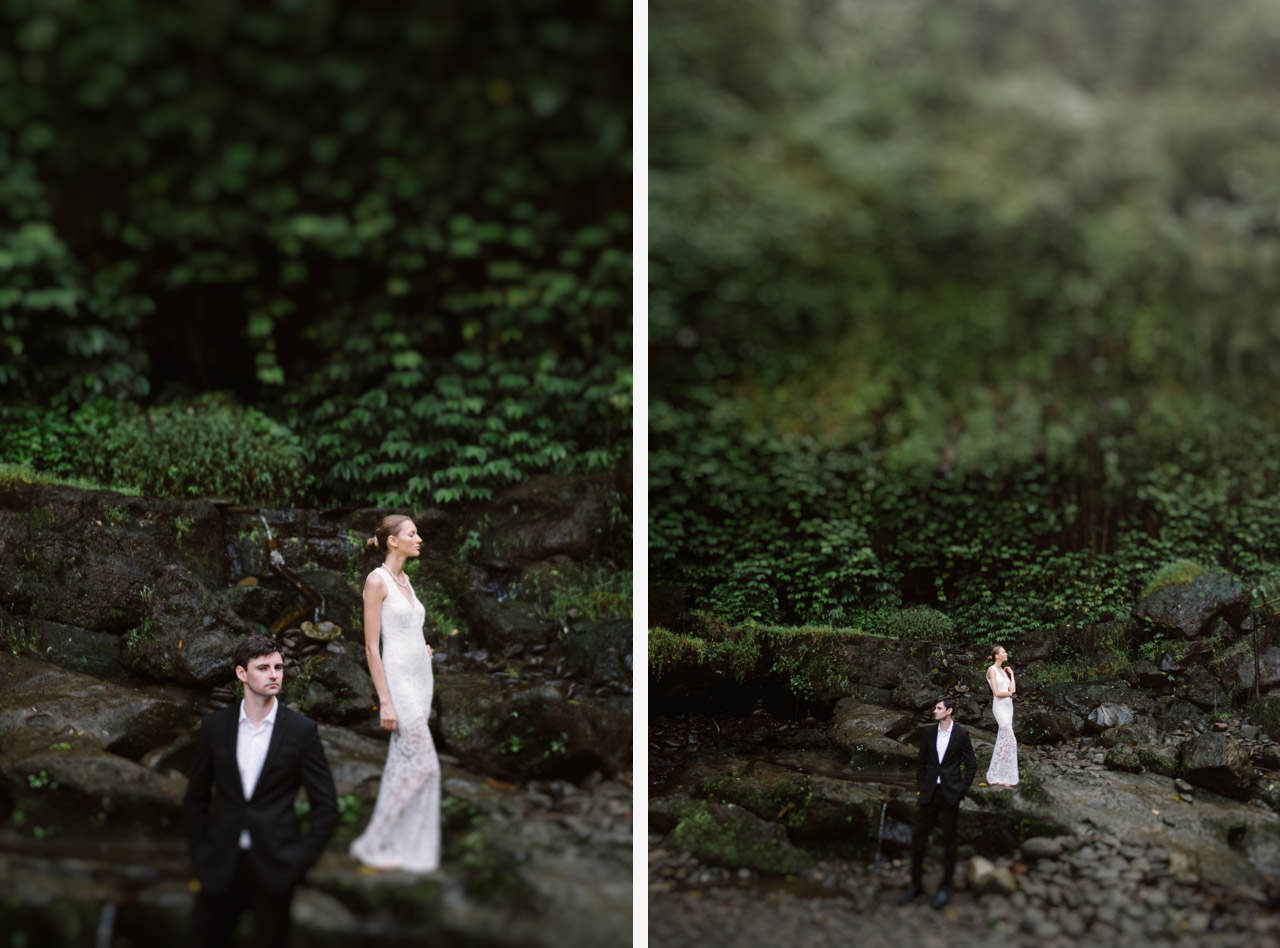 Anya & Denis: Honeymoon Photography in Ubud Bali 14
