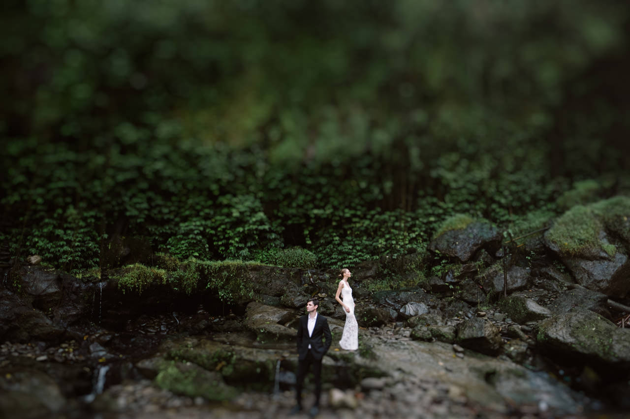 Anya & Denis: Honeymoon Photography in Ubud Bali 15