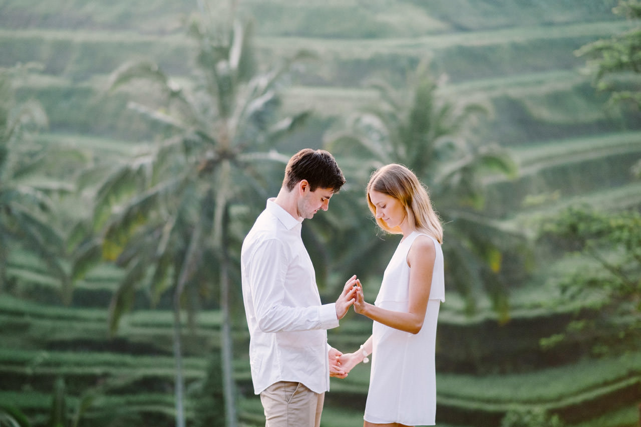 Anya & Denis: Honeymoon Photography in Ubud Bali 21