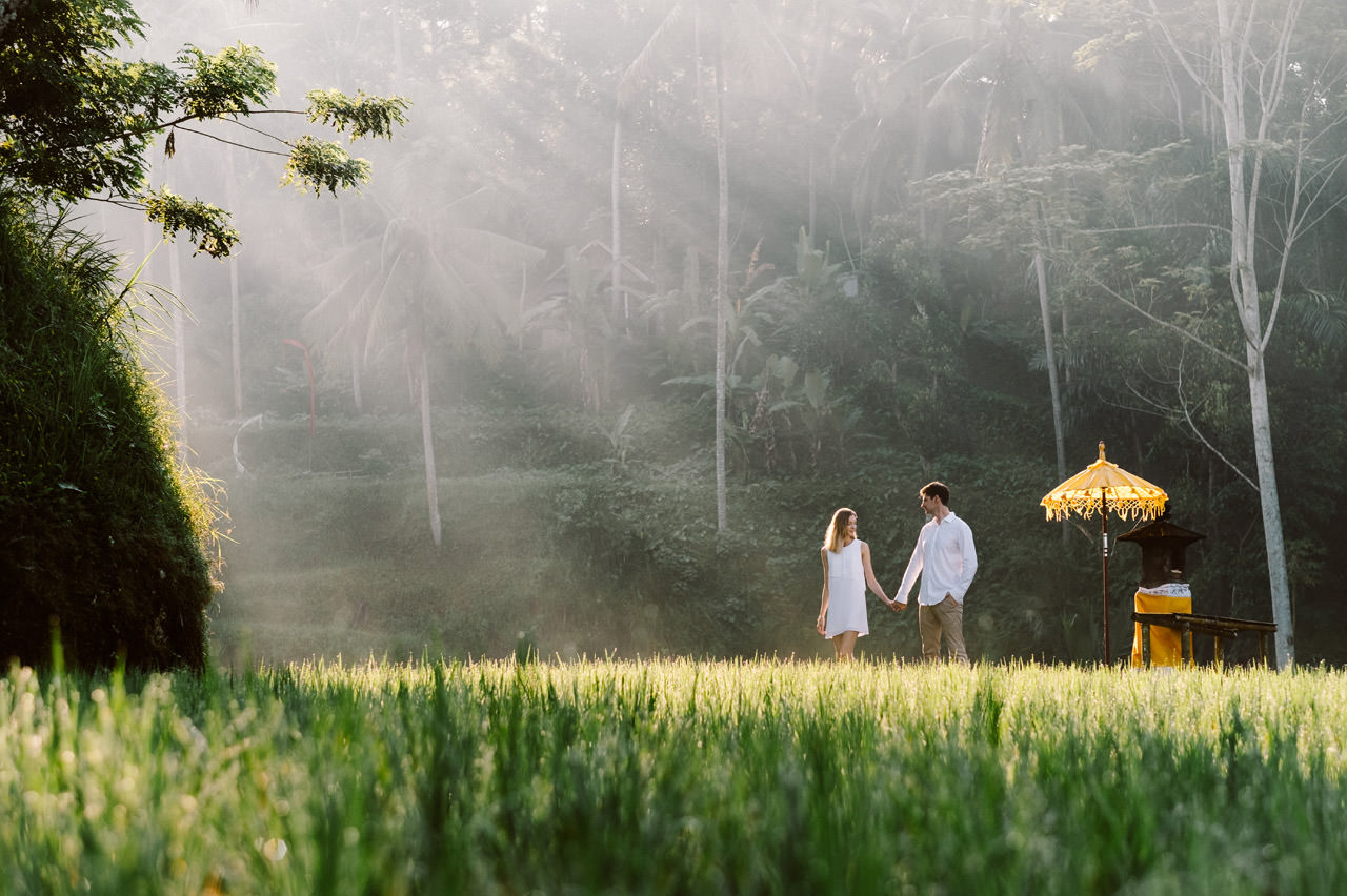 Anya & Denis: Honeymoon Photography in Ubud Bali 33