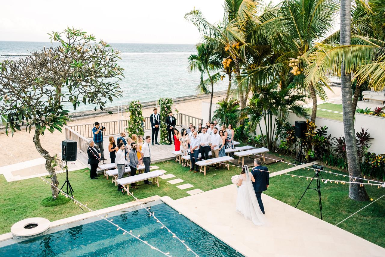 E&A: Beachside Candidasa Bali Wedding Photography 19