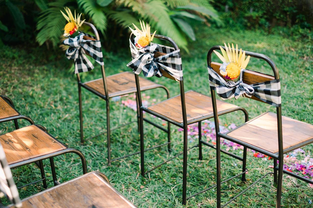 Bali traditional wedding decoration