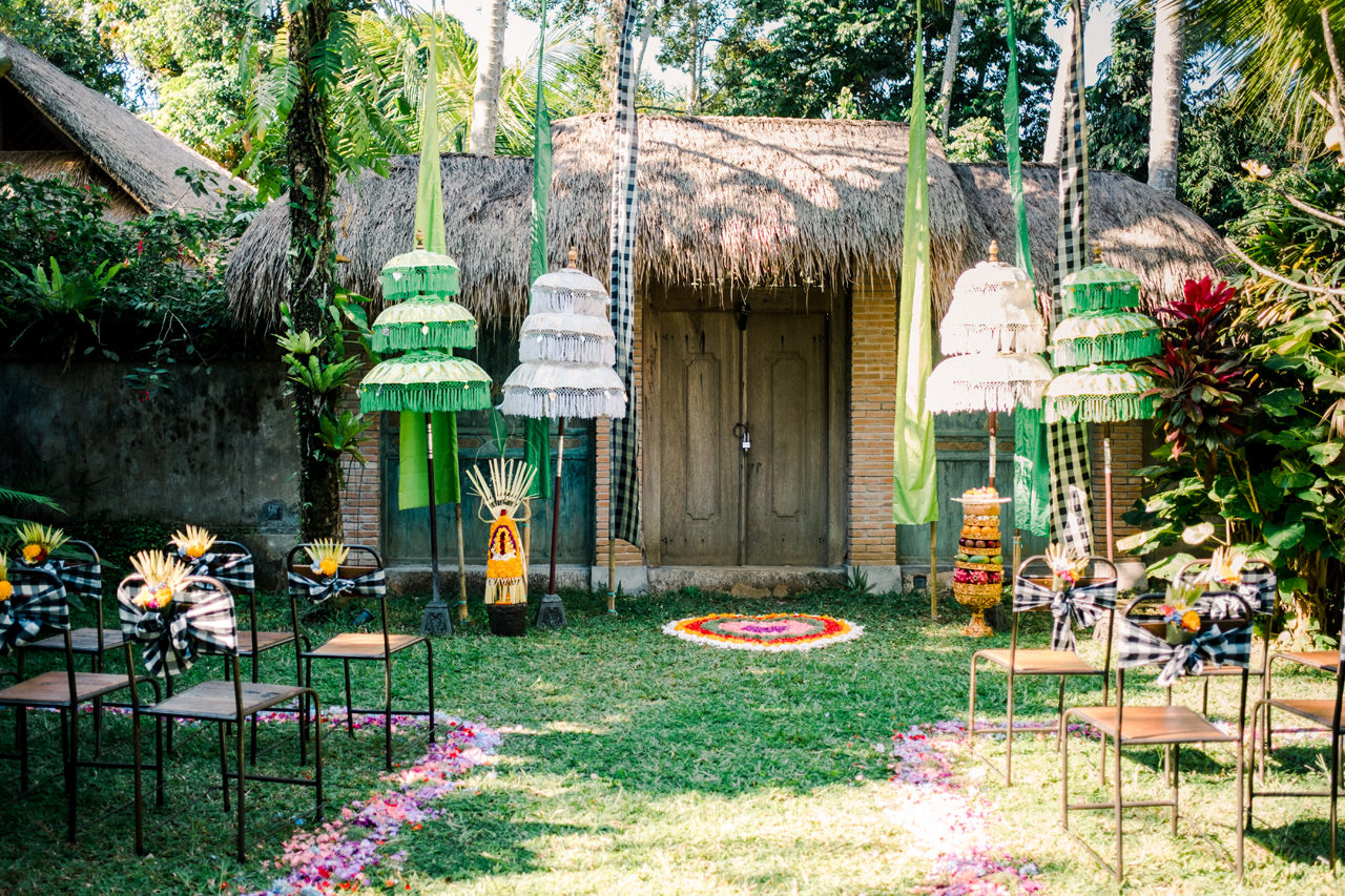 A&F: Greenery Ubud Villa Wedding Photography 12