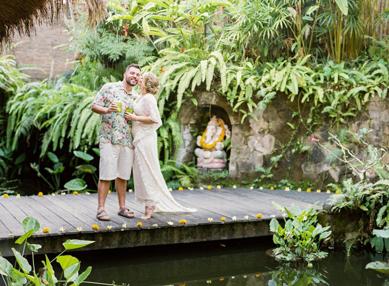 Tropical Greenery Ubud wedding venue