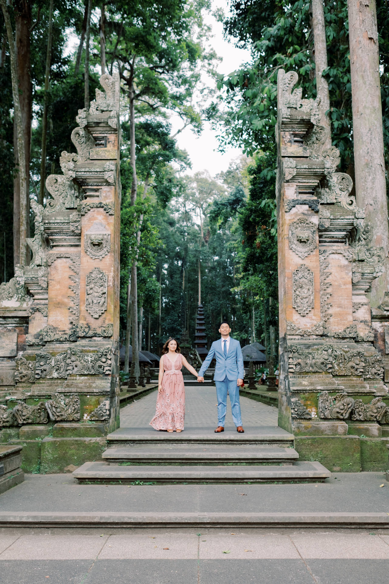 A&H: Bali Prewedding at Sangeh Monkey Forest 2