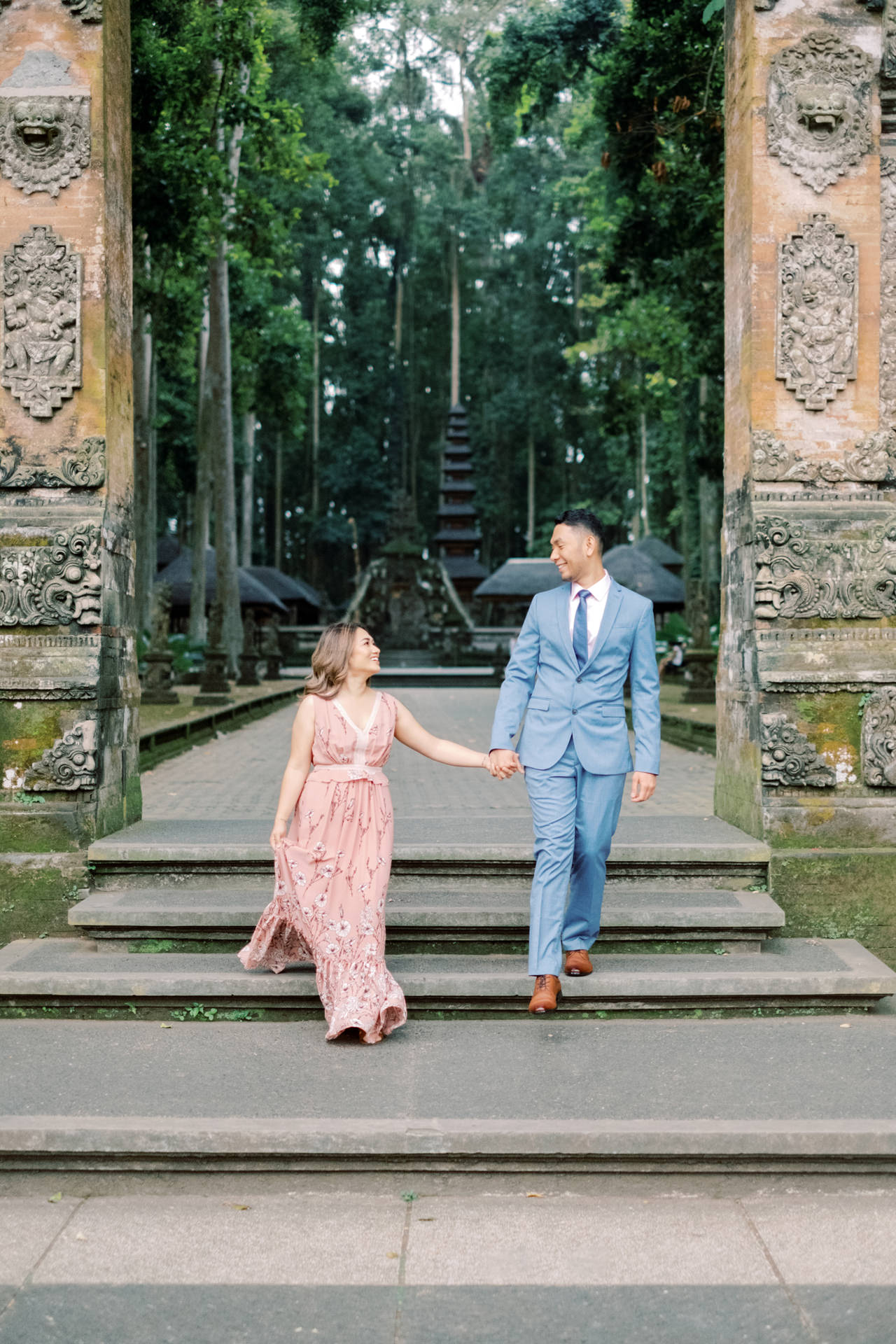 A&H: Bali Prewedding at Sangeh Monkey Forest 3