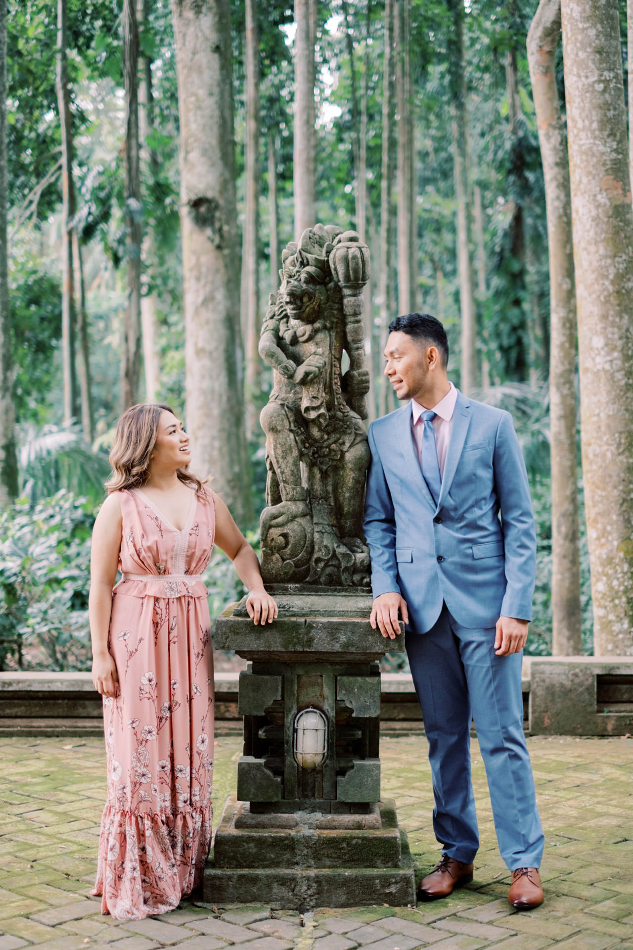 A&H: Bali Prewedding at Sangeh Monkey Forest 4