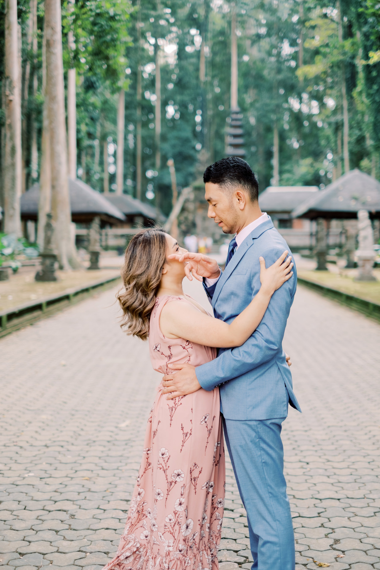 A&H: Bali Prewedding at Sangeh Monkey Forest 5
