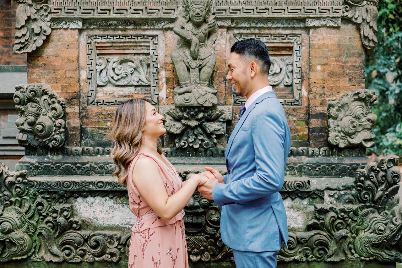 "A&H: Bali Prewedding at Sangeh Monkey Forest 7"" width="