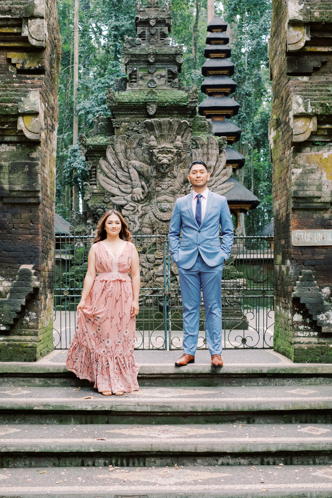 A&H: Bali Prewedding at Sangeh Monkey Forest 8