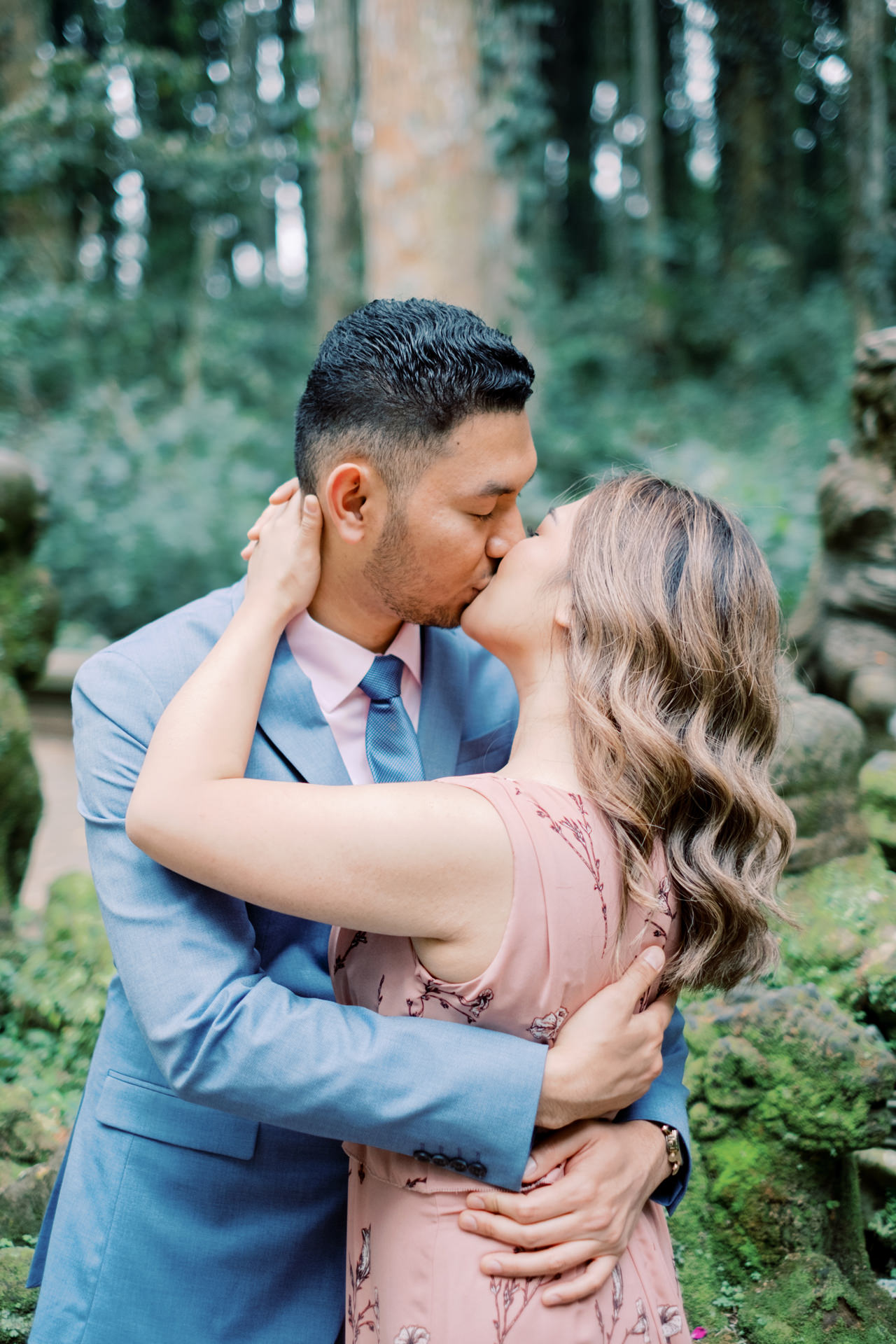 A&H: Bali Prewedding at Sangeh Monkey Forest 9
