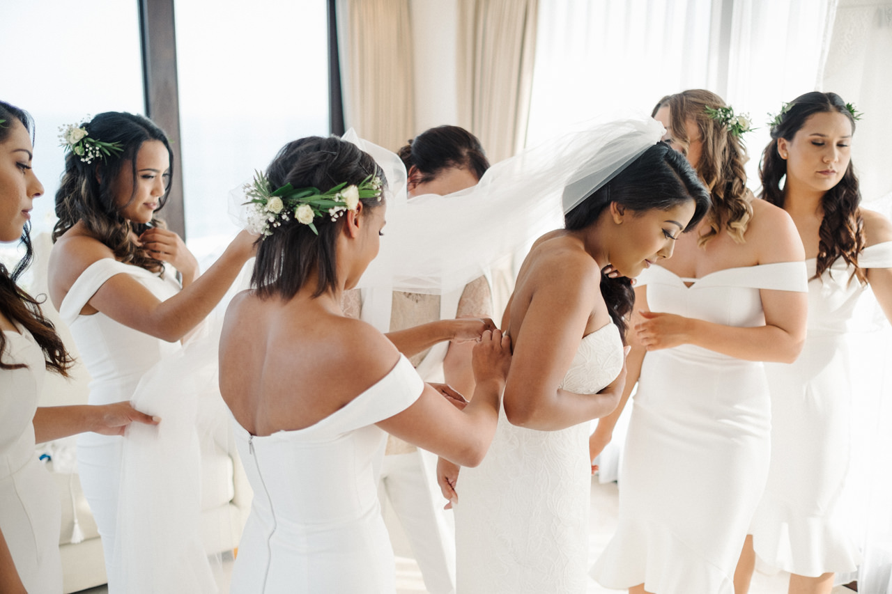 A&J: A Dramatic Bali Cliff Top Wedding Photography 11