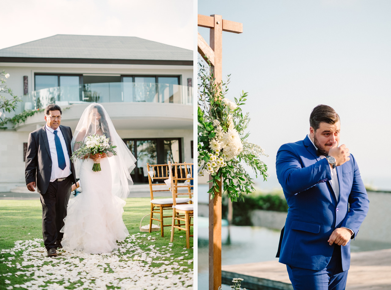 A&J: A Dramatic Bali Cliff Top Wedding Photography 17