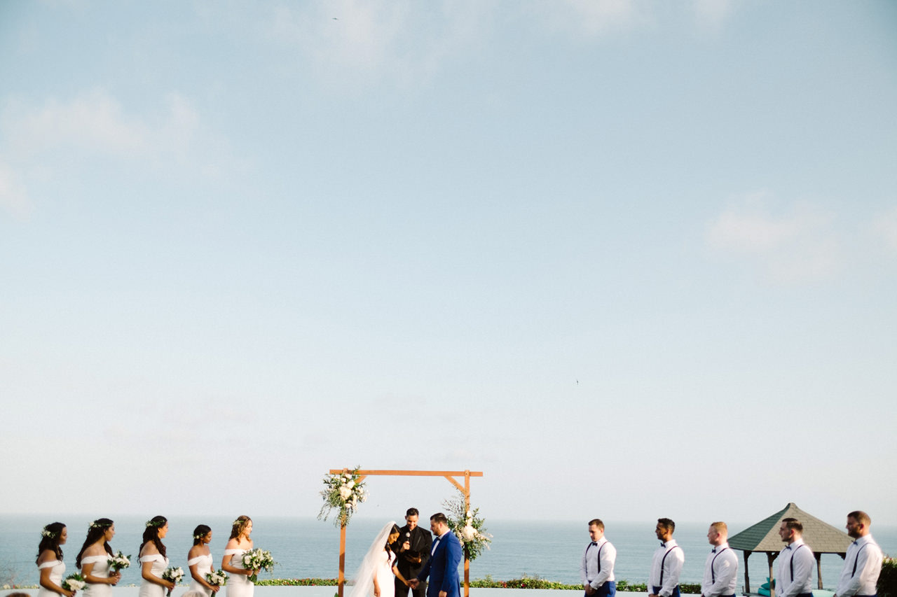 A&J: A Dramatic Bali Cliff Top Wedding Photography 18