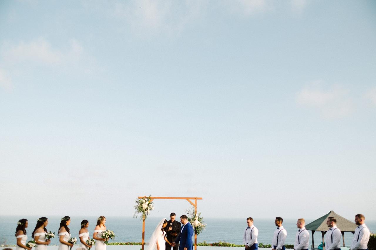 A&J: A Dramatic Bali Cliff Top Wedding Photography 18