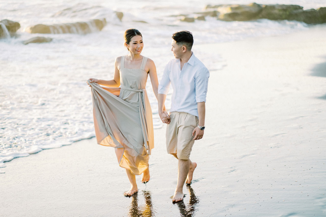 Canggu Beach Engagement Session 10