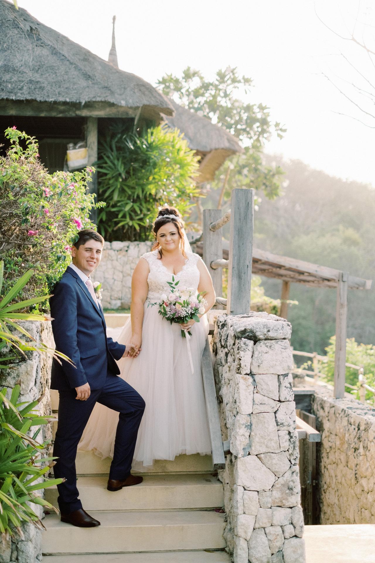 A&J: Opera Villa Nusa Lembongan Wedding 32