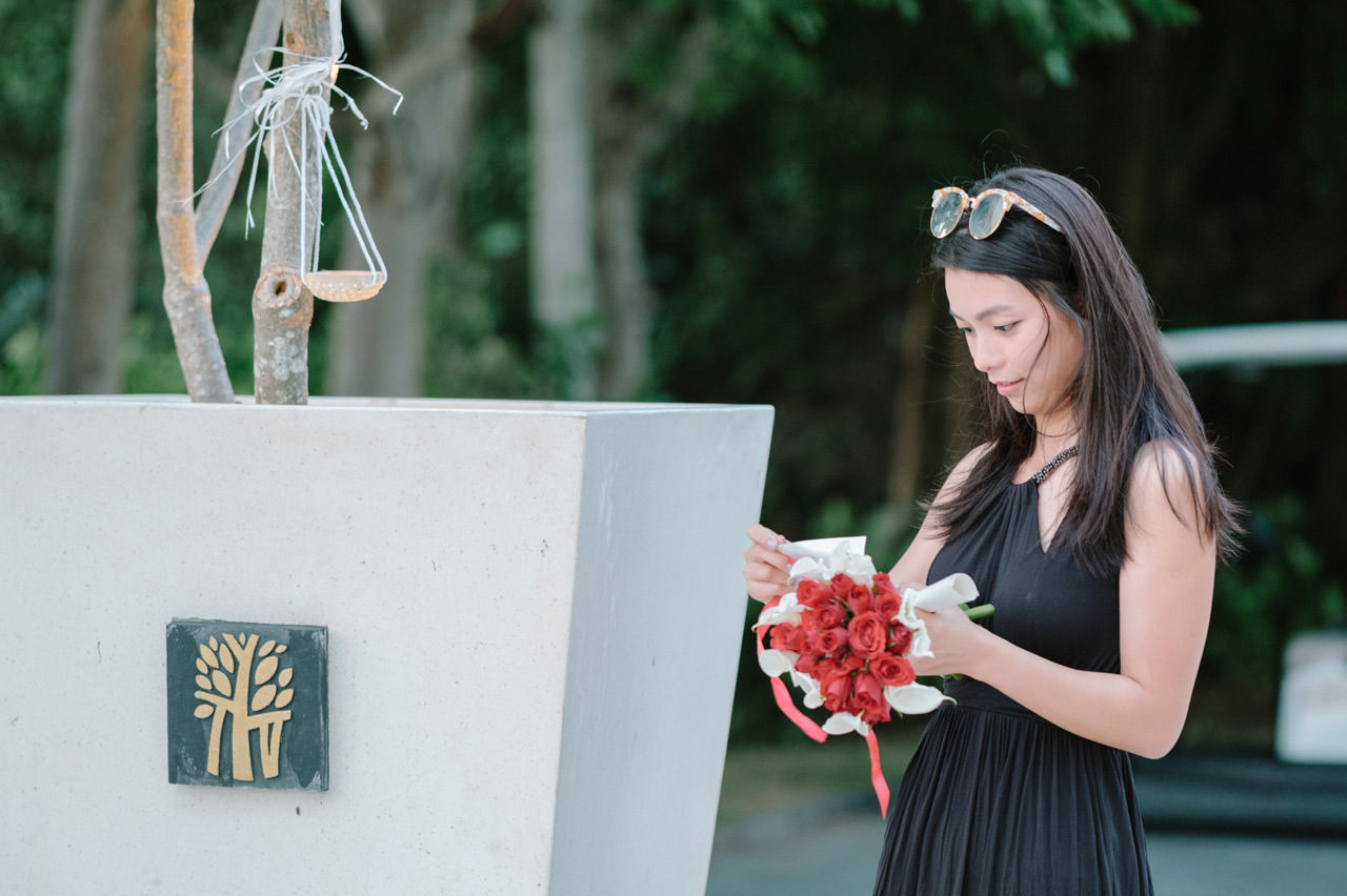 Arthur & Karman: Surprise Proposal Photography at Banyan Tree 6