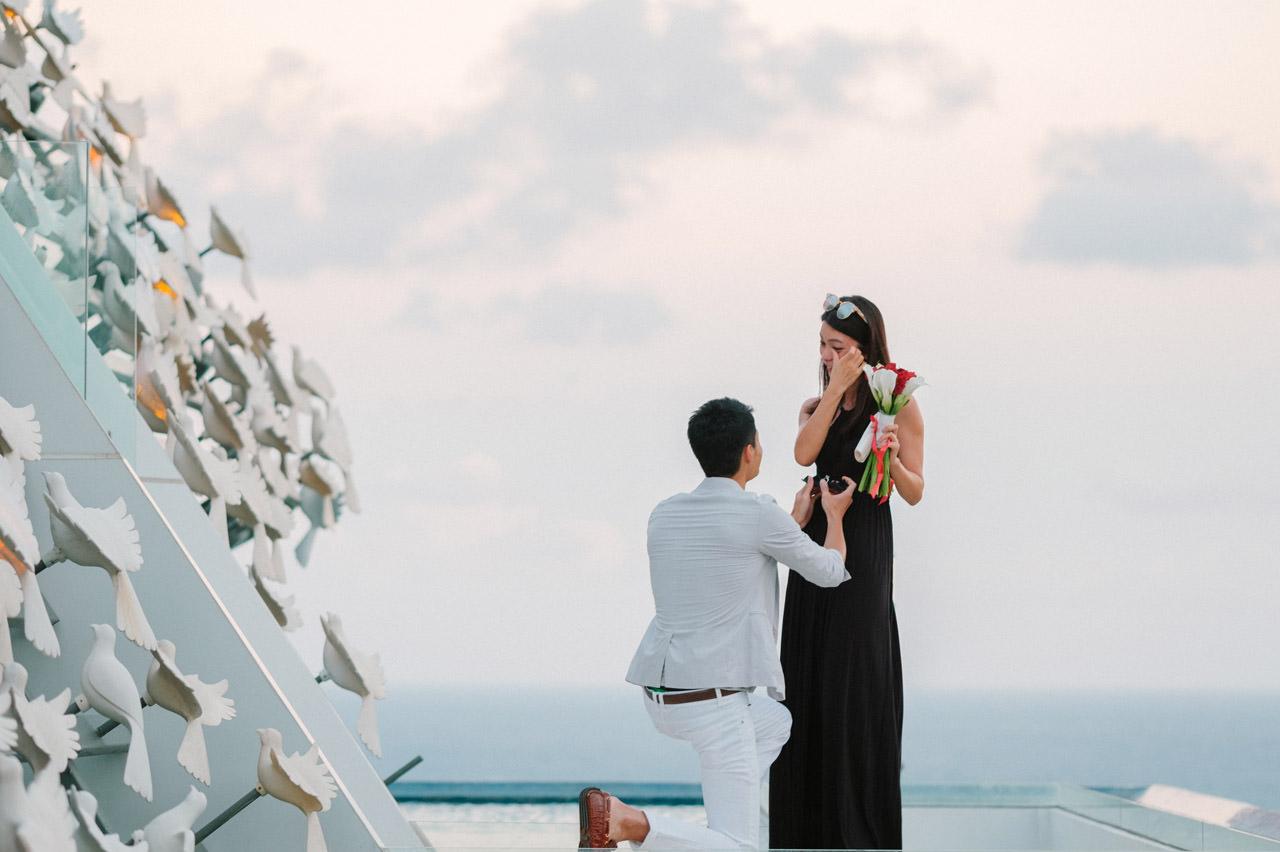 Arthur & Karman: Surprise Proposal Photography at Banyan Tree 11