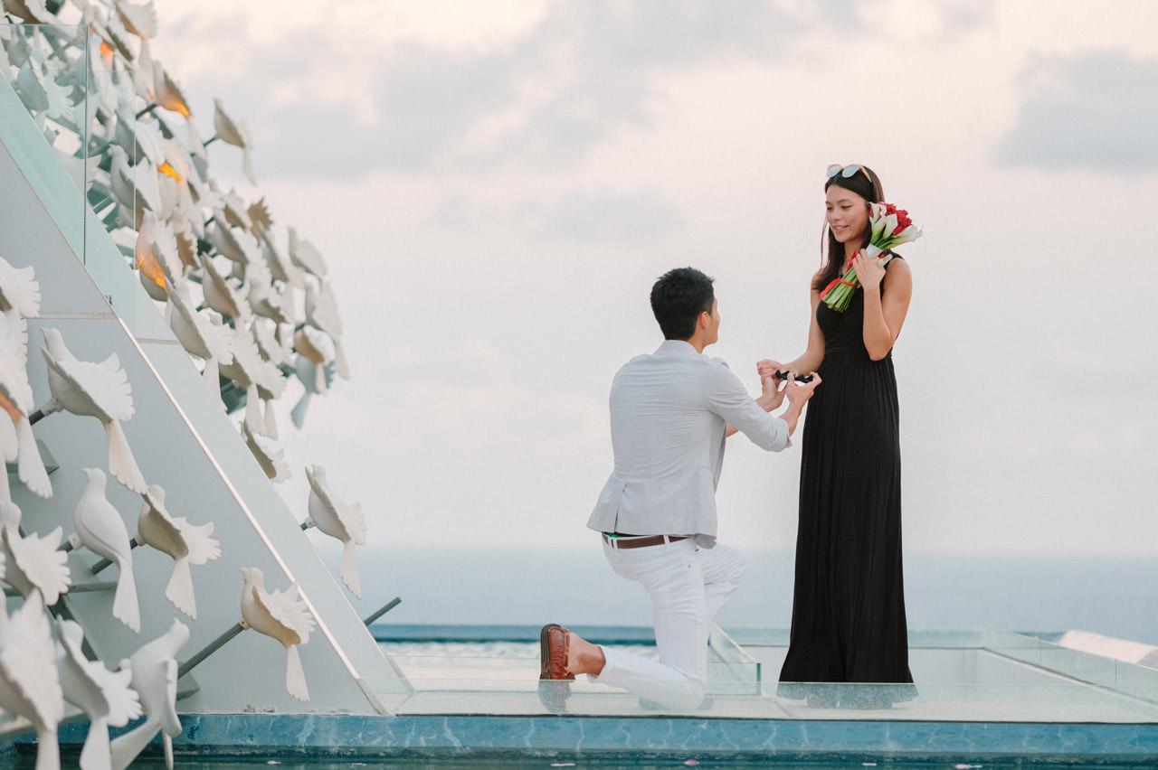 Arthur & Karman: Surprise Proposal Photography at Banyan Tree 12