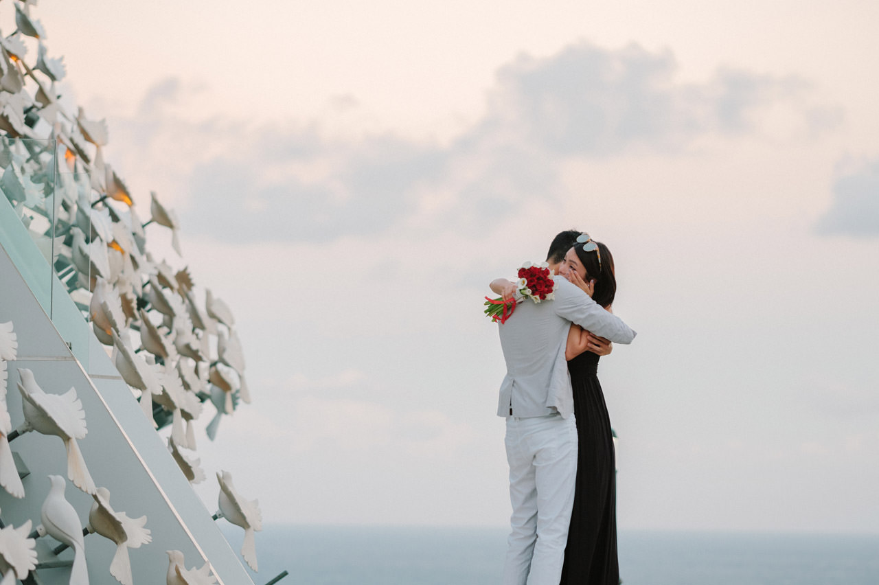 Arthur & Karman: Surprise Proposal Photography at Banyan Tree 14