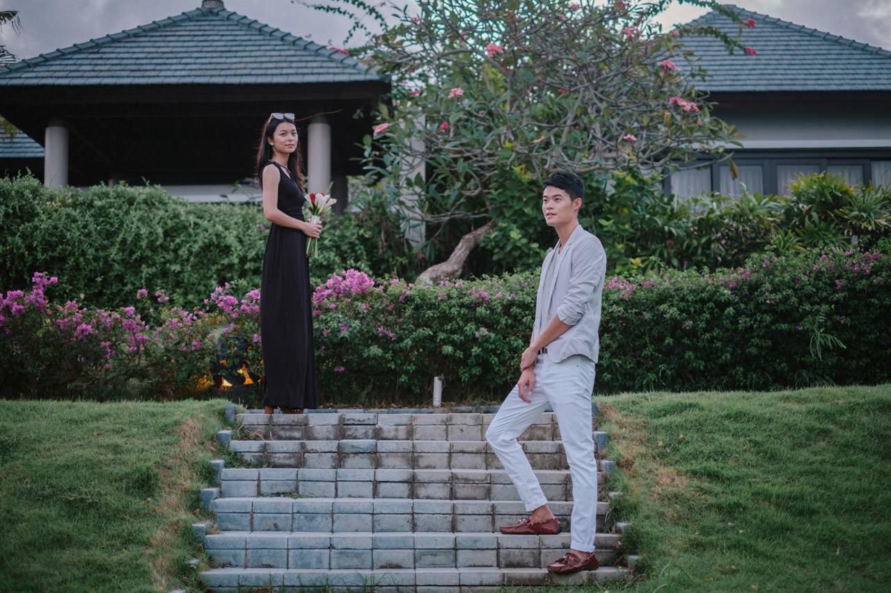 Arthur & Karman: Surprise Proposal Photography at Banyan Tree 20