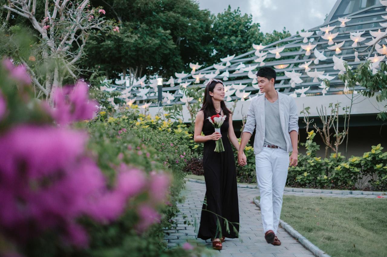 Arthur & Karman: Surprise Proposal Photography at Banyan Tree 22
