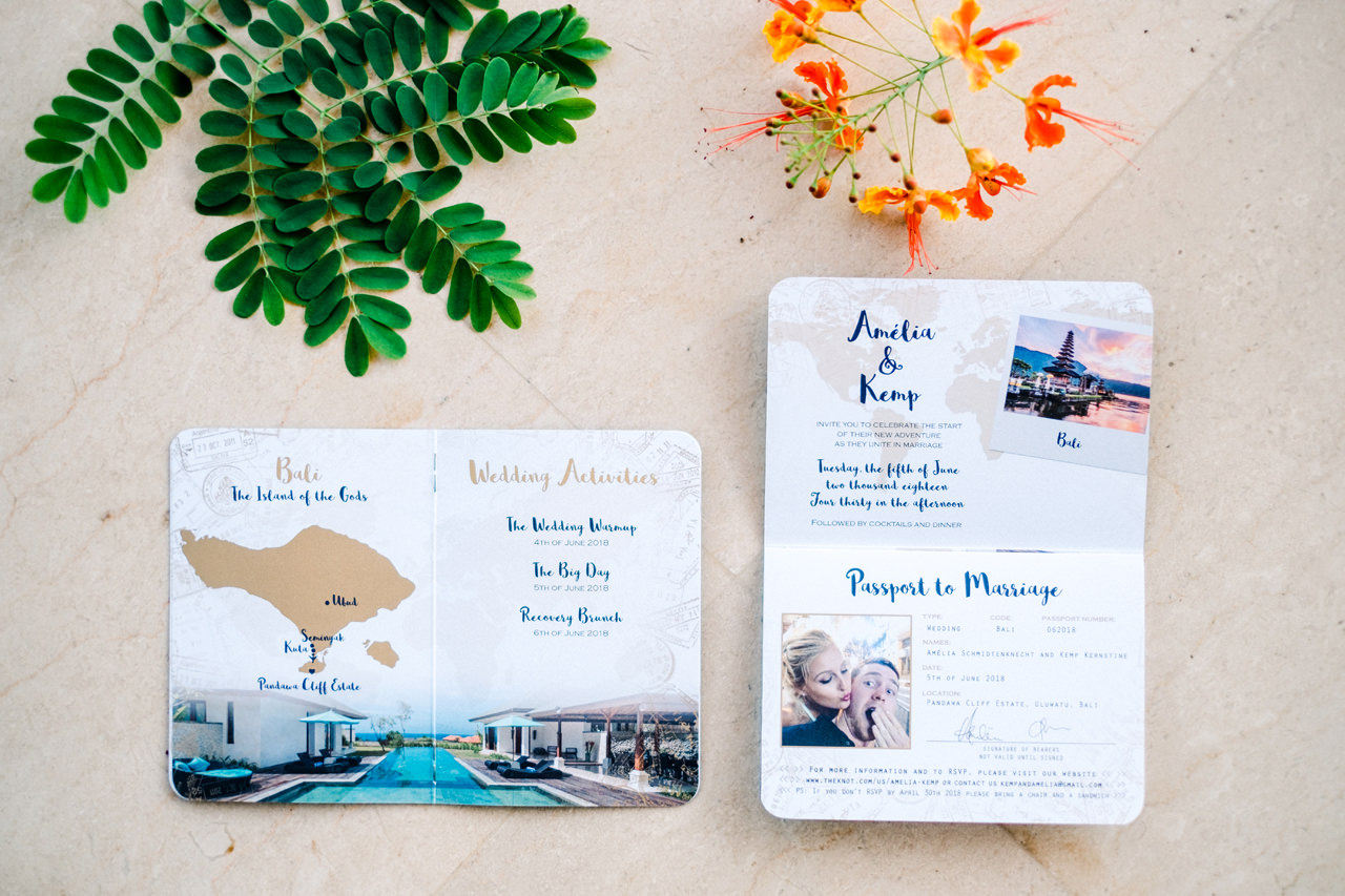 A&K: Elegant Ocean View Bali Wedding Photography 2